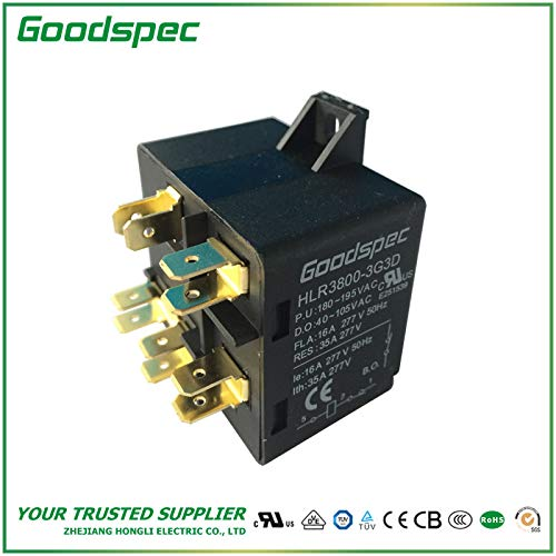 HLR3800-3G3D Potential Type Motor Starting Relay (Starting Potential Relay)