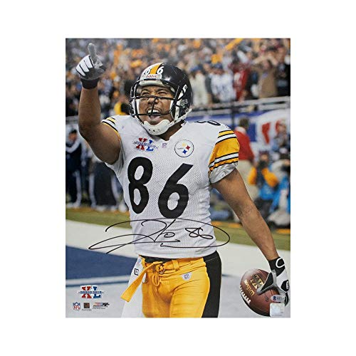 Hines Ward Autographed Pittsburgh Steelers 16x20 Photo - BAS COA