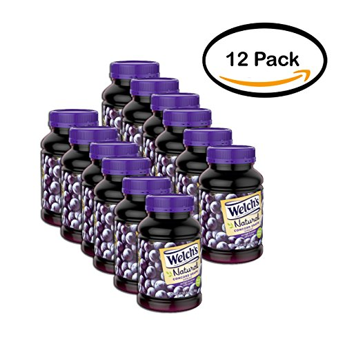 PACK OF 12 - Welch's Natural Concord Grape Spread 27 oz. Jar by Welch's