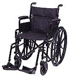 Carex Health Brands Wheelchair, Black