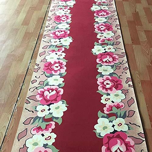 - SMJZCGY Promenade Carpet Can Be Cut Machine Wash Rural Wind Living Room Foyer Porch Mat Custom Home Aisle Corridor Carpet Stair Mat DEG-040 (Size : 1.2×1 m)