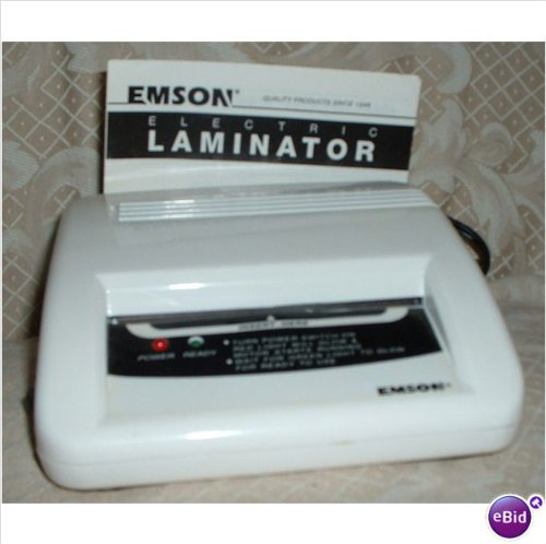 Emson Electric Laminator - Model 2291