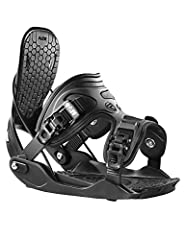 The all-mountain ALPHA is an uncomplicated binding uncompromising on performance. The molded composite baseplate and ExoFit PowerStrap with LSR buckles are supportive and comfortable enough to ride all day. The UniBack with EVA wrap-pad cushi...