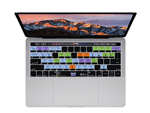 macOS Keyboard Cover for MacBook Pro (Late 2016+) w/ Touch Bar