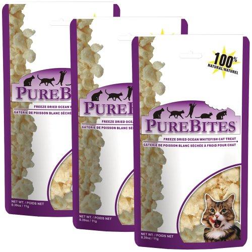 PureBites Ocean Whitefish Cat Treat 3 Pack (1.17 oz)