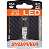 SYLVANIA ZEVO 2825 T10 W5W White LED Bulb, (Contains 1 Bulb)