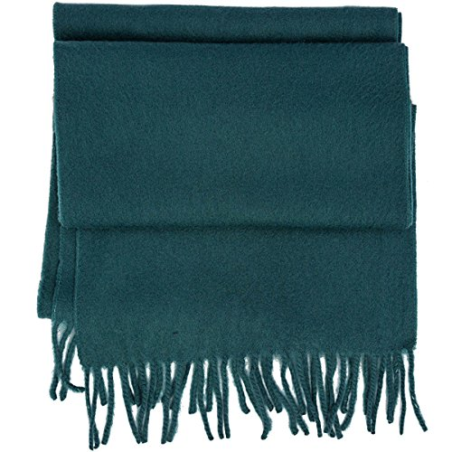 Coach solid Wool Cashmere blend winter Scarf (green)