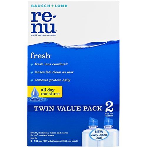 ReNu Fresh Multi-Purpose Contact Lens Solution, 8 fl. oz.(Pack of 2)
