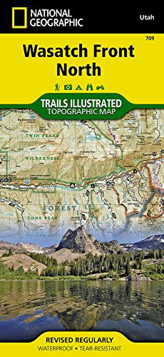 Wasatch Front North (National Geographic Trails Illustrated ()