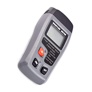 Madera Digital Medidor de humedad de mano 2 pernos Madera Madera detectores de humedad húmedo Testers Cghfo: Amazon.es: Bricolaje y herramientas