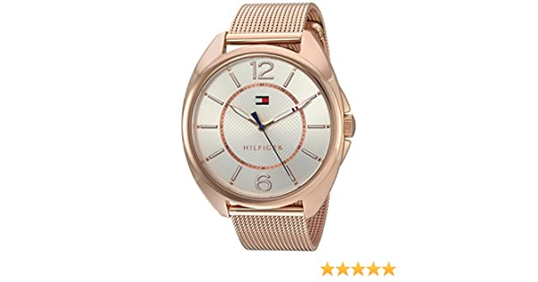 Amazon.com: Tommy Hilfiger Womens Quartz Gold Watch(Model: 1781697): Watches