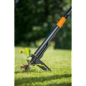 Fiskars-Xact-Weed-Puller-Length-1-m-Stainless-Steel-HandlePlastic-Handle-BlackOrange-1020126