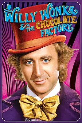 Willy Wonka /& the Chocolate Factory 12x18//24x36inch Movie Silk Poster Art Print