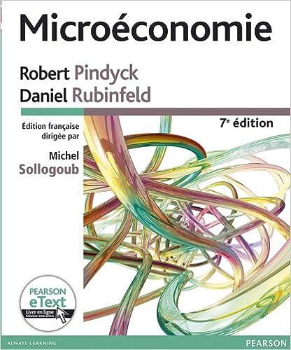 En ligne téléchargement gratuit Microéconomie 7e Ed. + eText pdf, epub ebook