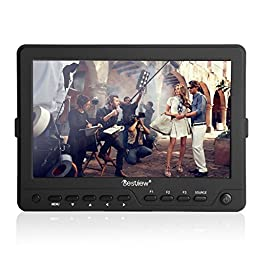 pangshi 7 inch Ultra HD LCD Video Field Monitor with 1280x800 High Resolution HDMI/AV for Canon Nikon Sony DSLR Camera Camcorder