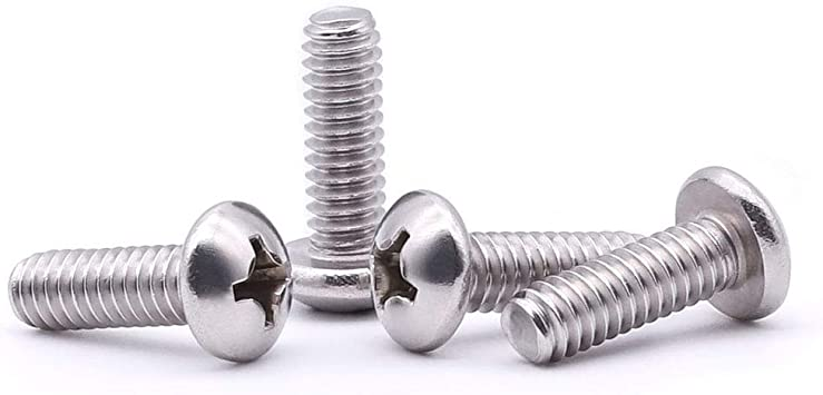 Stainless Steel 18-8 Phillips Drive 8-32 x 7//8 Flat Head Machine Screws Machine Thread Full Thread Quantity 100 by Fastenere Bright Finish