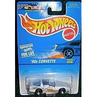 HOT WHEELS 1996 COLLECTOR # 616 '80S CORVETTE HOOD SE ABRE!