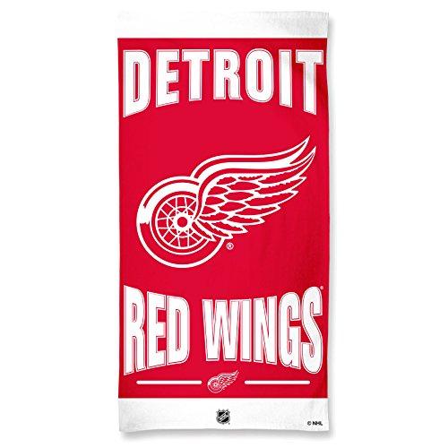 NHL Detroit Red Wings Fiber Beach Towel, 30 x ()