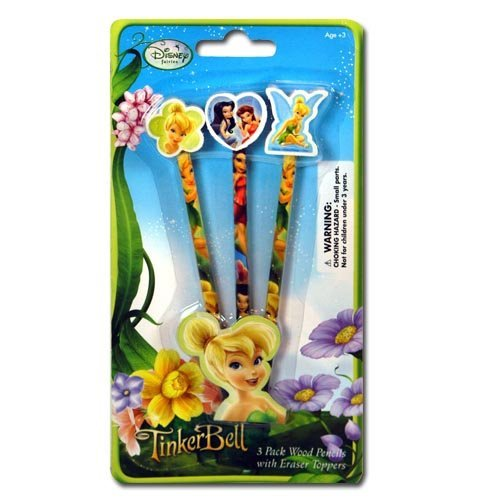 5pc Pencil Ruler Tinkerbell Stationary - Stationary Tinkerbell