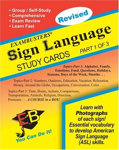 (1 of 3) Exambusters Study Cards (Ace's Exambusters) ()