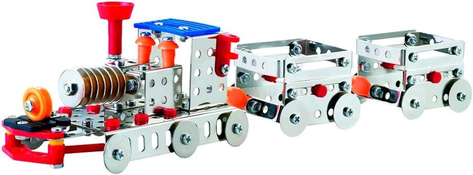 ColorBaby -  Juego de construcción metal Tren 239, piezas Smart Theory (44829)