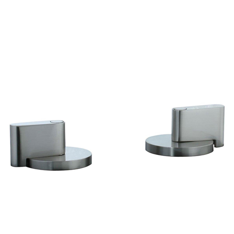 Cifial 231.670.620 Techno M3 Deck Valve Trim, Satin Nickel