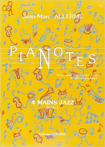 Livre gratuits en ligne Pianotes 4 mains Jazz Book 1 pdf, epub ebook