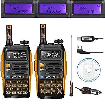 BaoFeng GT-3TP Radio Emetteur-Ré cepteur Talkie Walkie Orange/Noir