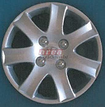 WHEEL BOWL PEUGEOT 206 PLUS 4 X 14-INCH DIAMETER 1 HUBCAP IS INCLUDED.: Amazon.co.uk: Car & Motorbike