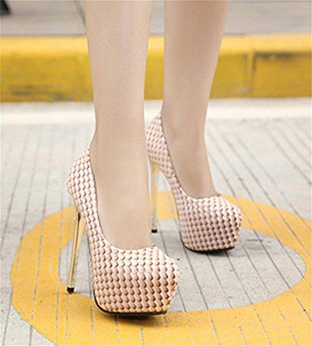 HETAO Persönlichkeit Heels Frauen Stiletto Diamante Party Abend Gericht Schuhe High Heel Plattformen Schuhe Temperament elegante Schuhe Color
