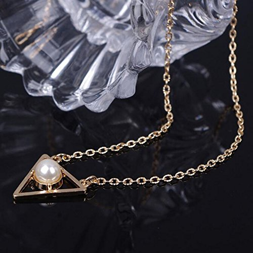 Wholesale A&C 2015 Hot Cakes Bohemia Mysterious Triangle Necklaces for Girl, Fashion Casual Necklace for Girls on Party/ Evening/ Wedding. supplier