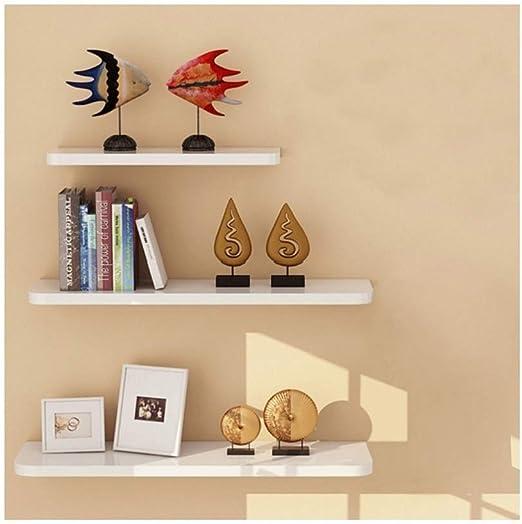 Set of 4 Large Cubes Pink Wall Shelving Bookshelf Hanging Storage Display Unit