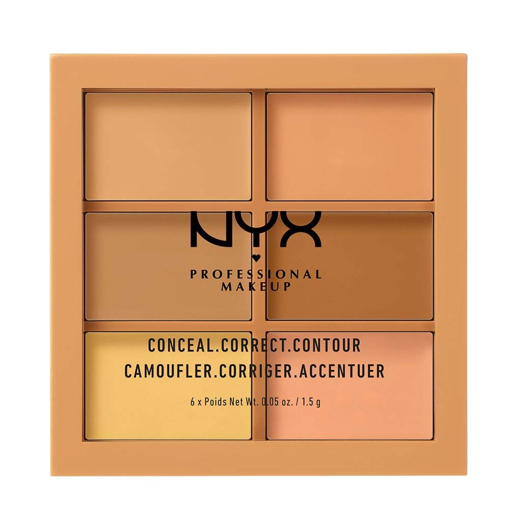 NYX PROFESSIONAL MAKEUP Conceal Correct Contour Palette - Medium: Beauty