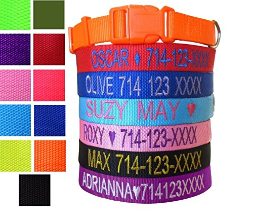 Nylon Adjustable Dog Collar - 1