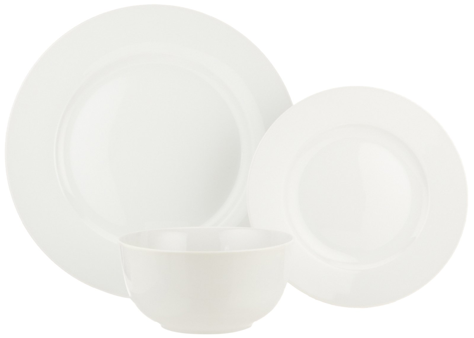 AmazonBasics 18-Piece Dinnerware Set, Service for 6 by AmazonBasics (Image #6)