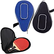 Waterproof Nylon Table Tennis Racket Bag PingPong Paddle Bat Storage Case Box Zipper #01