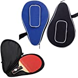 Ownsig Waterproof Nylon Table Tennis Racket Bag PingPong Paddle Bat Storage Case Box Zipper #01
