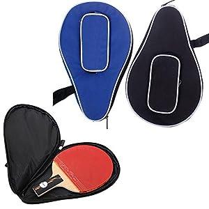 Ownsig Waterproof Nylon Table Tennis Racket Bag PingPong Paddle Bat Storage Case Box Zipper