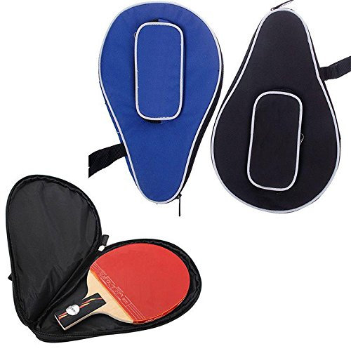 Best Deals! Ownsig Waterproof Nylon Table Tennis Racket Bag PingPong Paddle Bat Storage Case Box Zip...