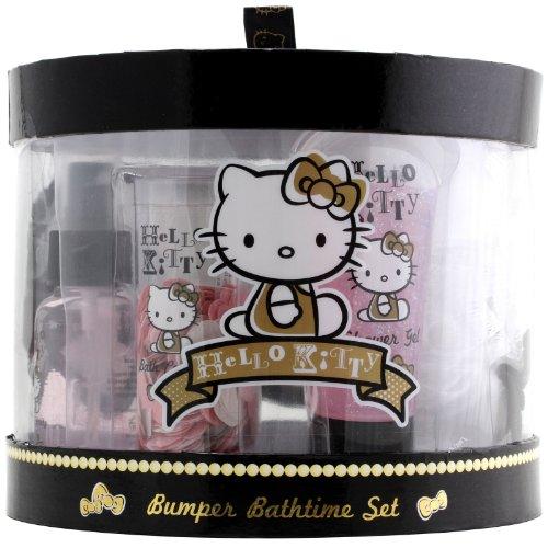 Hello Kitty Bumper Bathtime Set - Hello Kitty Bath Set