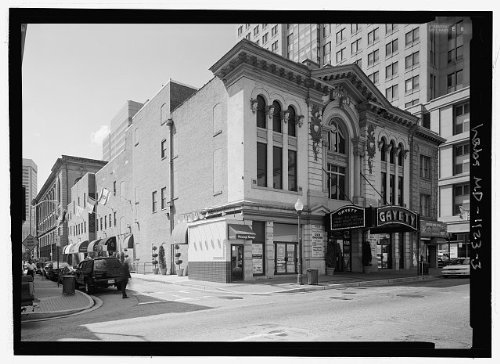Photo: Gayety Theatre,405 East Baltimore Street,Baltimore,Independent City,MD 2 (Party City Baltimore Md)