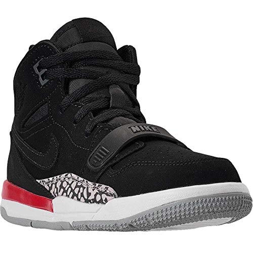 Nike Little Kids Air Jordan Legacy 312 (PS) Black/Black-Fire Red (1 Little Kid) (Kids Nike Shoes Jordan 1)
