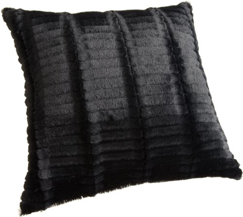 faux design luxury fur premium cushion pillow dp black amazon x cm