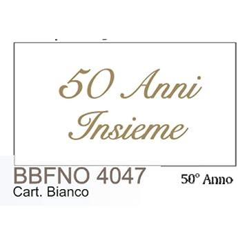 20 Piezas Notas Tarjeta Detalle Bodas de Oro D Oro 50 Años Insieme ...
