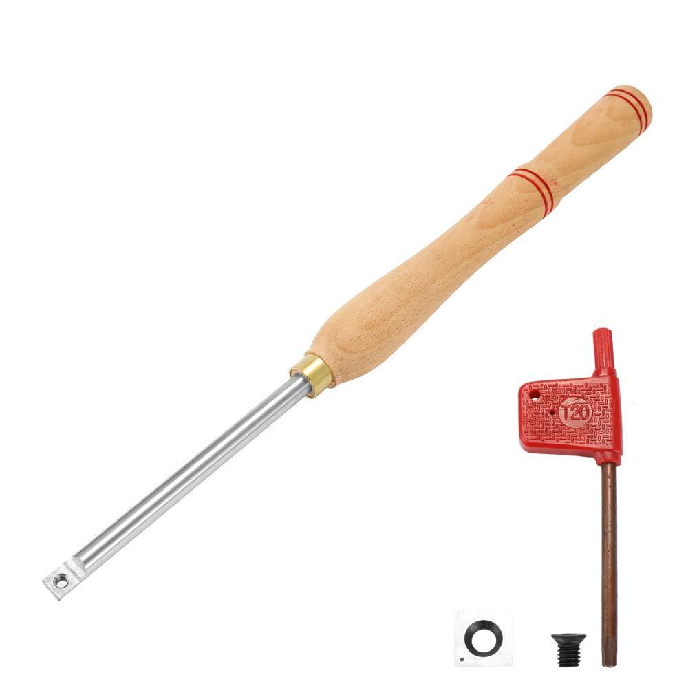 Festnight Holz Drehwerkzeug Drehmaschine Aus Legiertem Stahl Schraubenschl/üssel Aus Hartmetall Schneidwerkzeuge Holzgriff holzbearbeitungswerkzeug