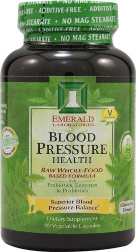 Emerald Labs Blood Pressure Health -- 90 Vegetable Capsules - 3PC by Emerald Laboratories