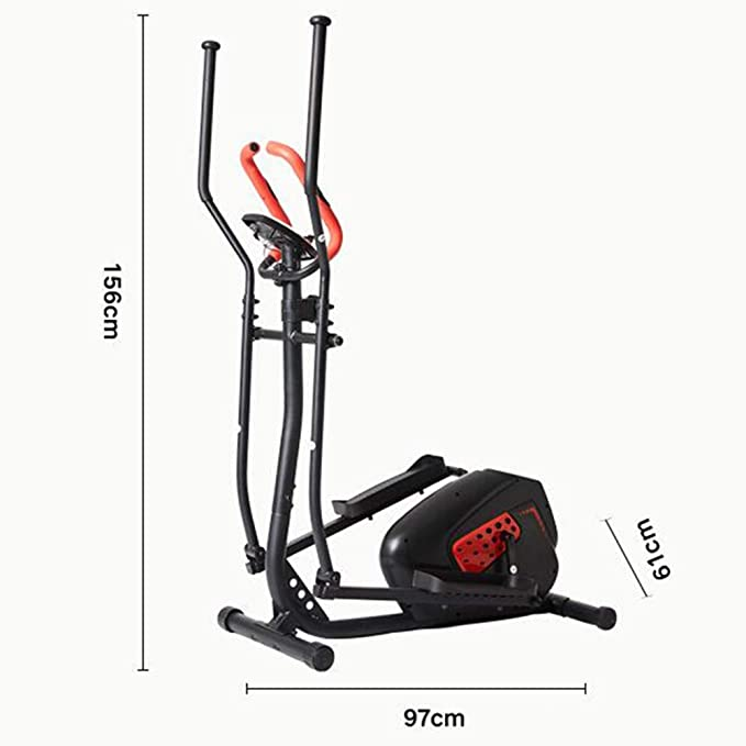 QZAA-Inicio Bicicleta Elíptica Bicicleta Giratoria con Monitor de ...