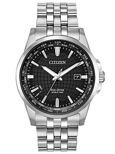 Citizen Watches Men's BX1000-57E Eco-Drive Silver Tone One Size