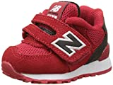 New Balance 574 Hook and Loop High Visibility, Unisex Kids Low-Top Sneakers, Red (Red), 5.5 Child UK (22.5 EU)