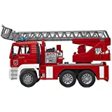 Bruder MAN TGA Fire Engine with Ladder Water Pump and Light/Sound Module Vehicle